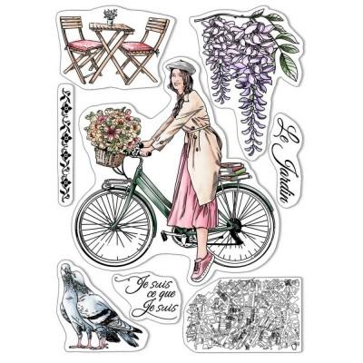 Ciao Bella - Estampe collection Notre vie  «Je suis ce que je veux»  8 pièces