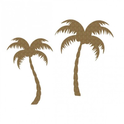 Creative Embellishments - Chipboard  «Palm Trees»