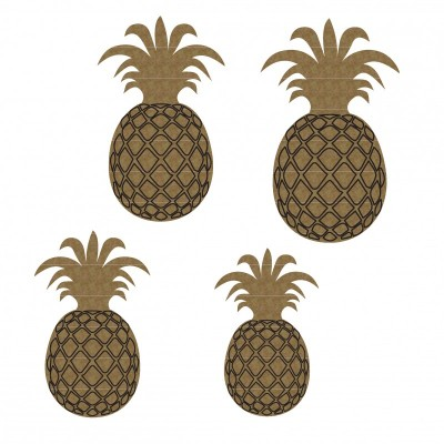 Creative Embellishments - Chipboard  «Pineapples»