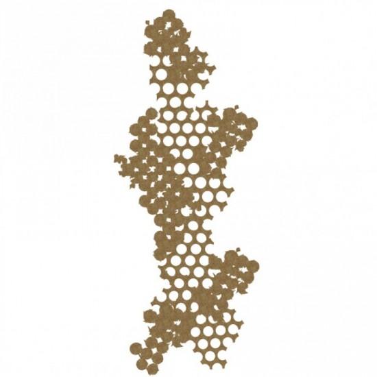 Creative Embellishments - Chipboard «Punchinella»