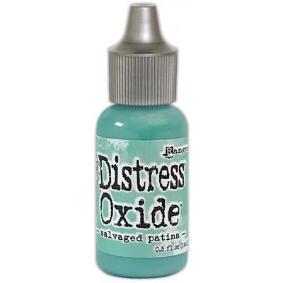 Distress Oxides Reinkers - Tim Holtz- couleur «Salvaged Patina»