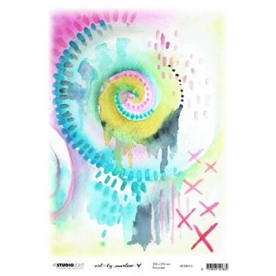 "Studiolight - Papier de riz Marlene's World «No. 16»  8"" X 11"""