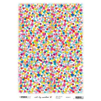 "Studiolight - Papier de riz Marlene's World «No. 19»  8"" X 11"""