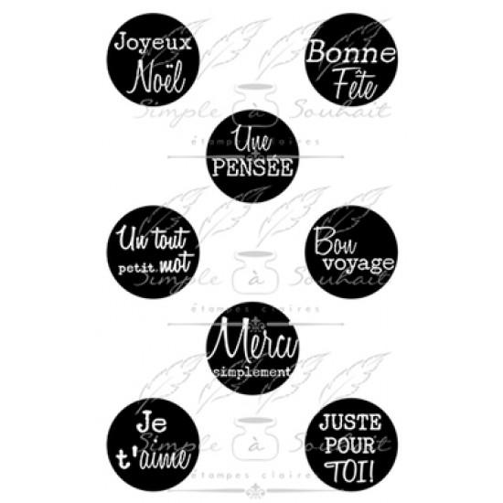 Simple à souhait - Estampes «Ronds #1»