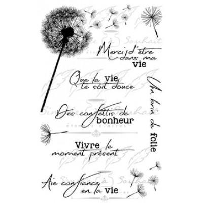 Simple à souhait - Estampes «Souhaits Fleuris #1»
