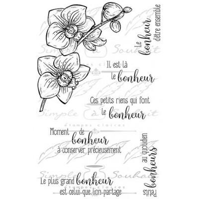 Simple à souhait - Estampes «Souhaits Fleuris #2»