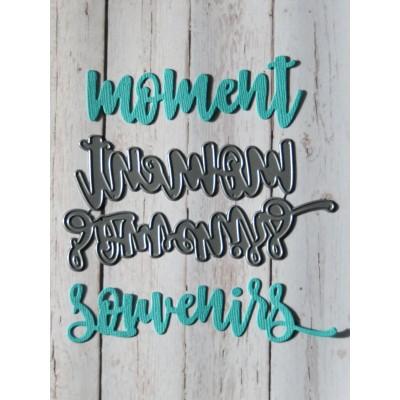 Simple à souhait - Dies «Souvenirs et Moment»