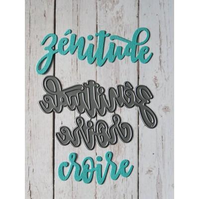 Simple à souhait - Dies «Zénitude»