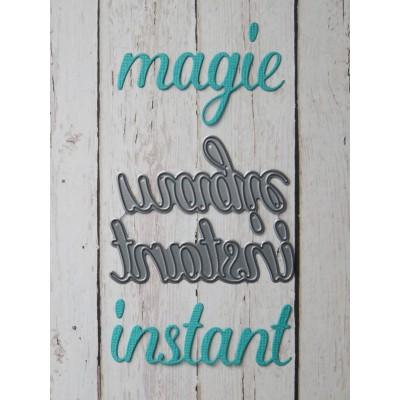 Simple à souhait - Dies «Instant et Magie»