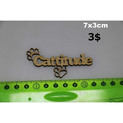 """Sagapo - modèle """"Cattitude"""""""