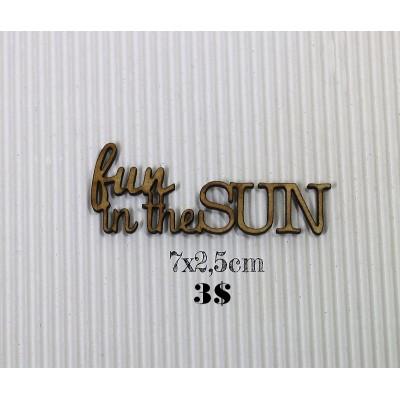 "Sagapo - modèle ""Fun in the sun"""