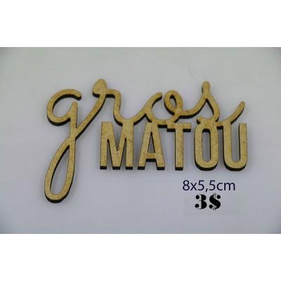 "Sagapo - modèle ""Gros Matou"""