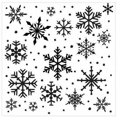 Creative Embellishments - «Snowflake» Stencil
