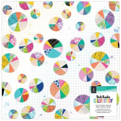 """PRÉCOMMANDE- Vicki Boutin - Vellum 12"""" x 12"""" collection «Color Study »"""