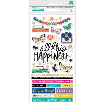 PRÉCOMMANDE- American Craft - Thickers collection «Color Study- All This Happiness» 65 pièces