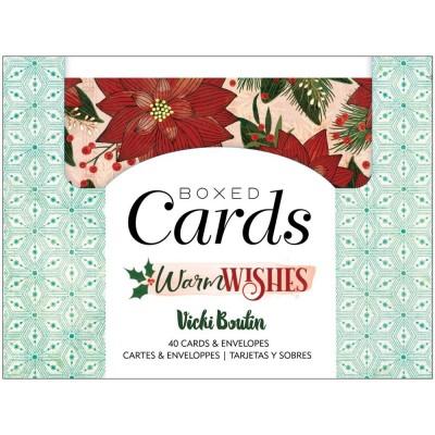 PRÉCOMMANDE- Vicki Boutin - Cartes avec enveloppes de la collection «Warm Wishes»