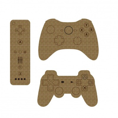 Creative Embellishments - Chipboard  «Video Game Controllers»
