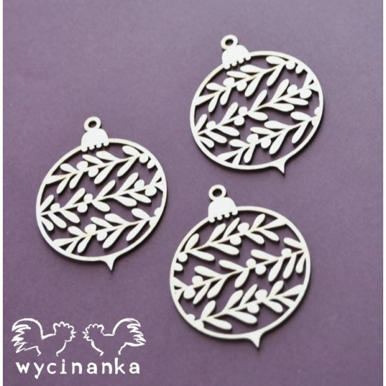 Wycinanka - It's all about christmas 8 -ensemble de 3 pièces-