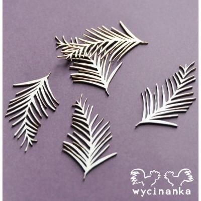 Wycinanka - Feuilles de palmier (paquet de 5)
