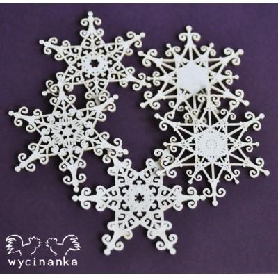 Wycinanka - Christmas joy - Flocons de neige #2