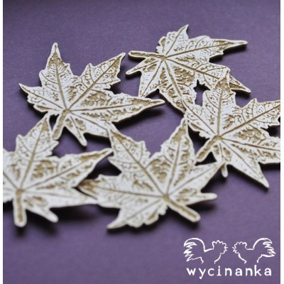 Wycinanka - The look of nature - feuilles #2