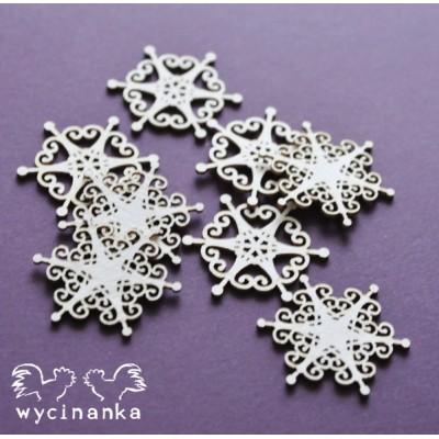 Wycinanka - Christmas Joy - mini flocons de neige
