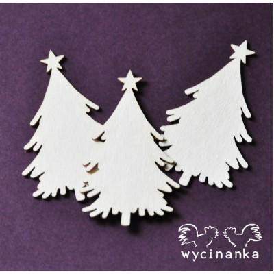 Wycinanka - Winter Doodles- Arbre de noël
