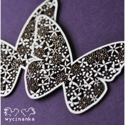 Wycinanka - Motyle