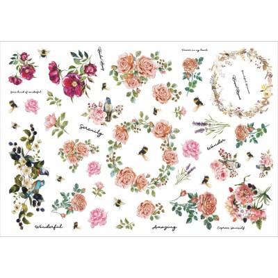 13 Arts - Éphéméra «Bloom» 60 pcs