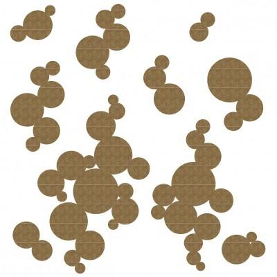 Creative Embellishments - Chipboard «Bubbles»