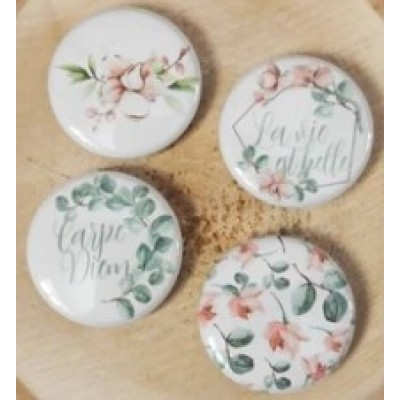 Scrap Accent - Badges modèle «Carpe Diem»