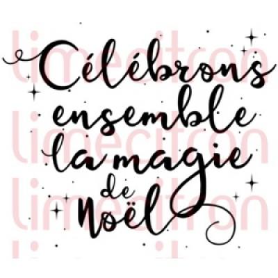 Lime Citron - estampe «Célébrons ensemble»