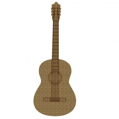 "Creative Embellishments - Chipboard ""Acoustic Guitar"""