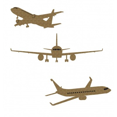 "Creative Embellishments - Chipboard ""Airplane"""