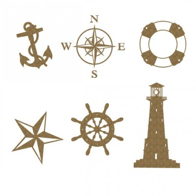 "Creative Embellishments - Chipboard ""Nautical Set"""
