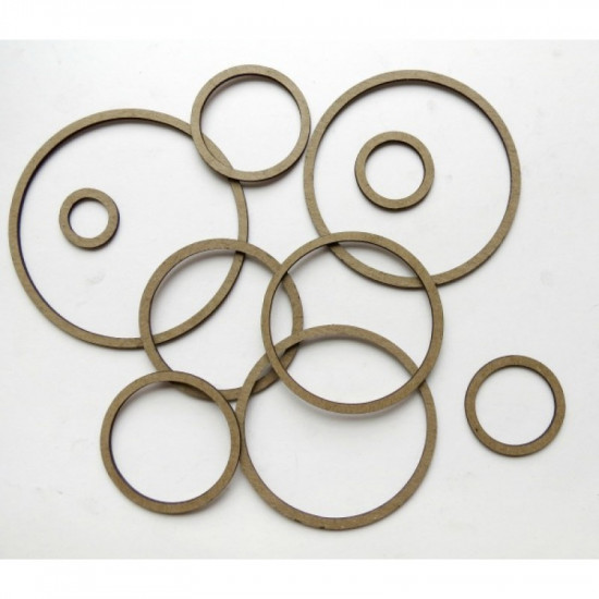 "Creative Embellishments - Chipboard ""Nested Shapes Rings"""