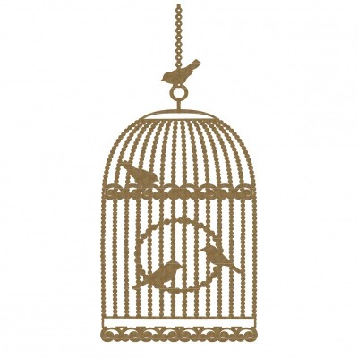 "Creative Embellishments - Chipboard ""Bird Cage"""