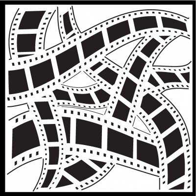 CE - Film strip stencil