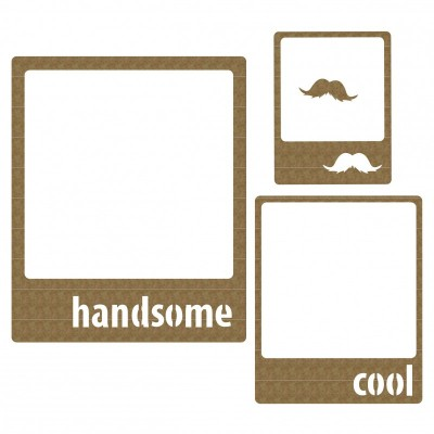 Creative Embellishments - Frames Handsome Set