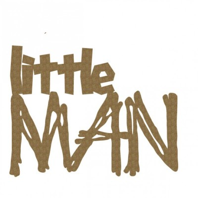 "Creative Embellishments - Chipboard ""Little Man"""