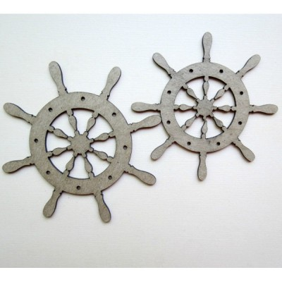 Creative Embellishments - Chipboard «Nautical Captain's wheel»