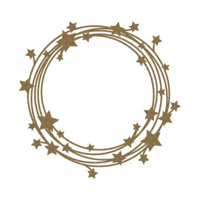 "Creative Embellishments - Chipboard ""Stars in my univers frame"""