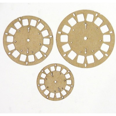 "Creative Embellishments - Chipboard ""View master"""