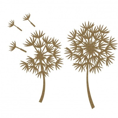 Creative Embellishments - Chipboard «Dandelions»