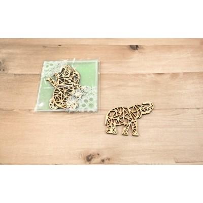 Sagapo - modèle «Éléphants origami» 3 pqt