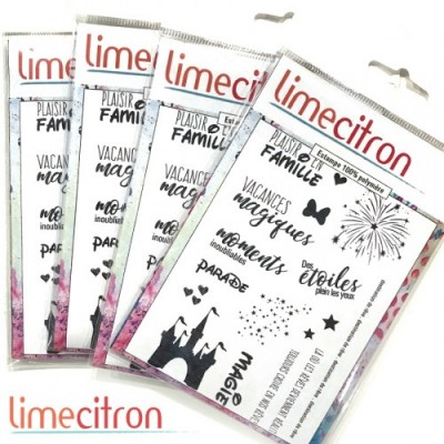 Lime Citron estampe «Vacances Magiques» 17 pièces