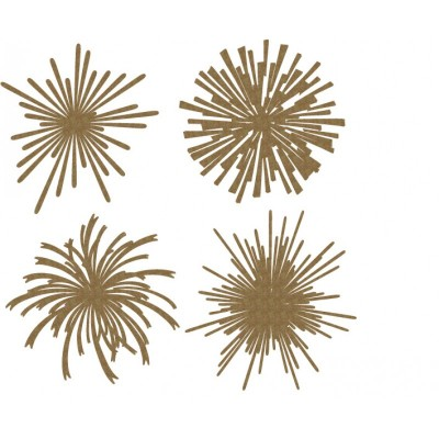 Creative Embellishments - Chipboard  «fireworks 2»