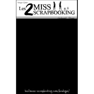 Les 2 Miss scrapbooking - Chipboard «Fleurs»