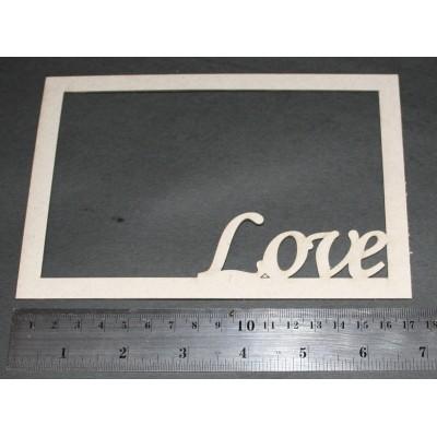 "2 Crafty - «Frame Love» 4"" x 6"""