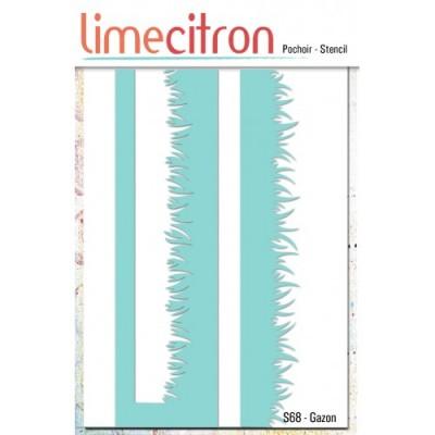 Lime Citron - Stencil «Gazon»